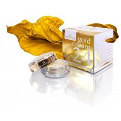 Gold cream 24K con oro puro...